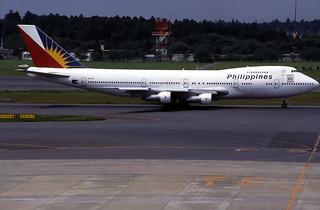 Philippine Airlines Boeing 747-283B(SCD) (EI-BTS/22381/500)