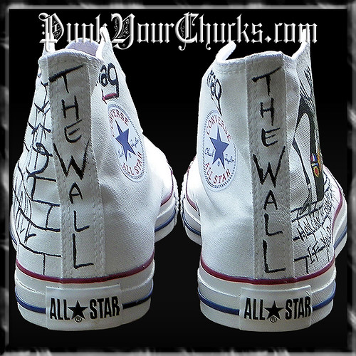 f3c8797d9d2 ... Pink Floyd The Wall Hand Painted Custom Converse Chuck Taylors