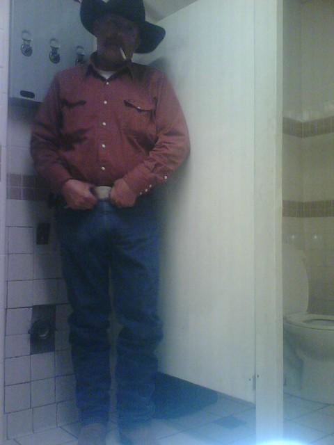 gay bathroom bj