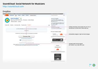 SoundCloud Innovation: DropBox / 2009-12-29 / SML