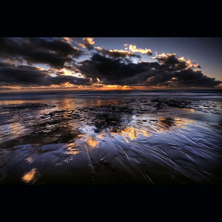 """ DUNRAVEN BAY REFLECTIONS """