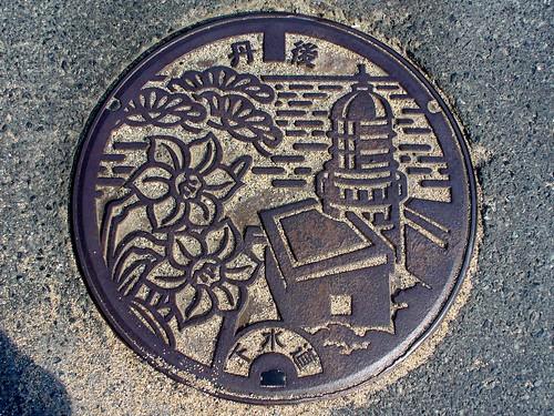 Tango,Kyoto manhole cover(京都府丹後町のマンホール)
