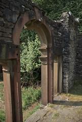 Window at Errwood Hall