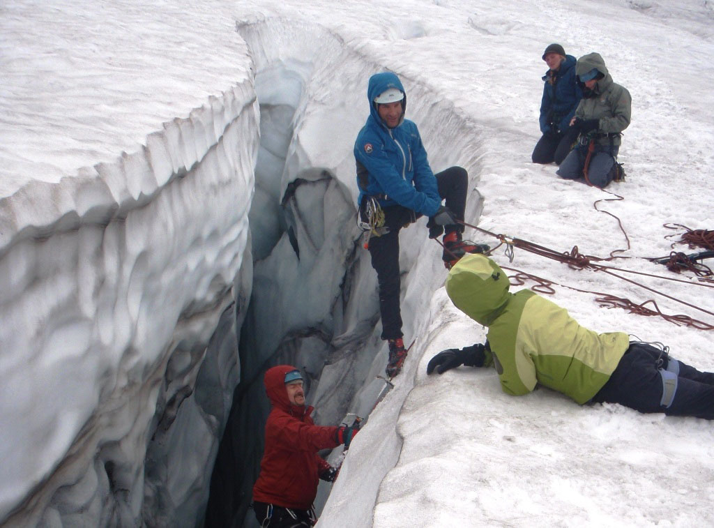 Glacier Travel on Mount Rainier