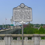 High-Level/Million Dollar Robert H. Mollohan Bridge Historical Marker