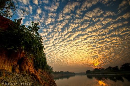 blue light sunset shadow sky people sun man reflection nature water sunshine river landscape dawn evening nikon cloudy dusk wide ultrawide bangladesh gettyimagesbangladeshq2