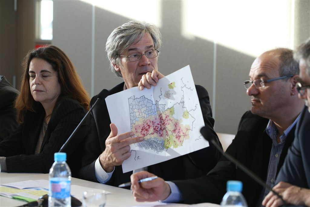 Crise aviaire : Venue de Stéphane Le Foll, Ministre de l'Agriculture