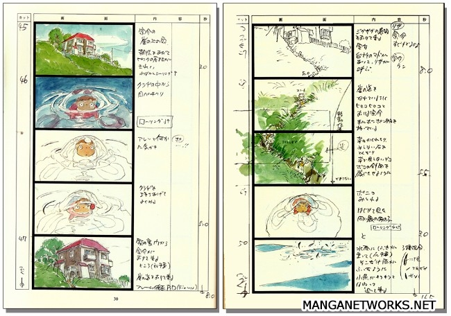 32995686261 67c4320fe2 o 16 Storyboards của Studio Ghibli sẽ khiến bạn muốn xem lại Movie ngay lập tức !!