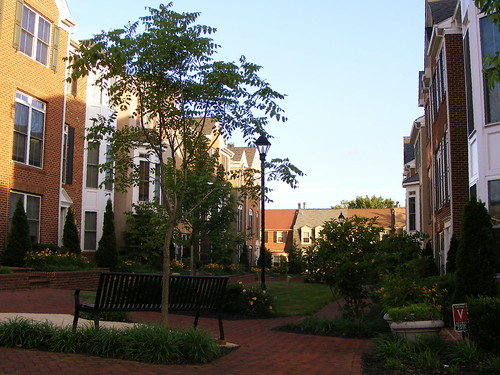 Mews, Georgia Village (Looking South)
