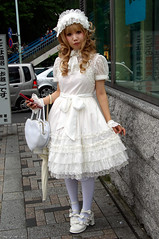 Japanese Lolita in White