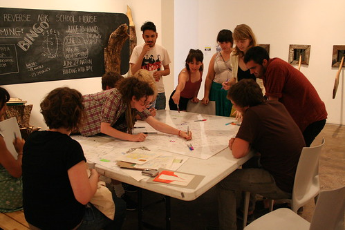 HDMA workshop at Contemporary Museum