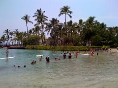 ハワイ島のビーチ
