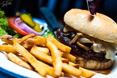Hard Rock-ing burger.