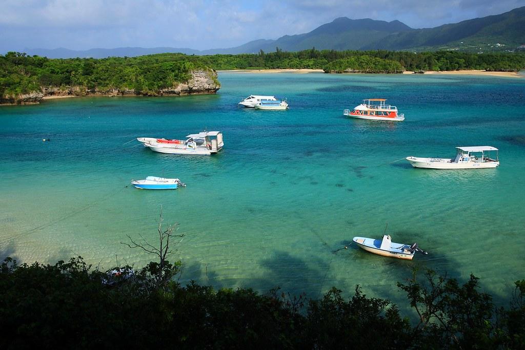 Kabira bay in Ishigaki Island Okinawa