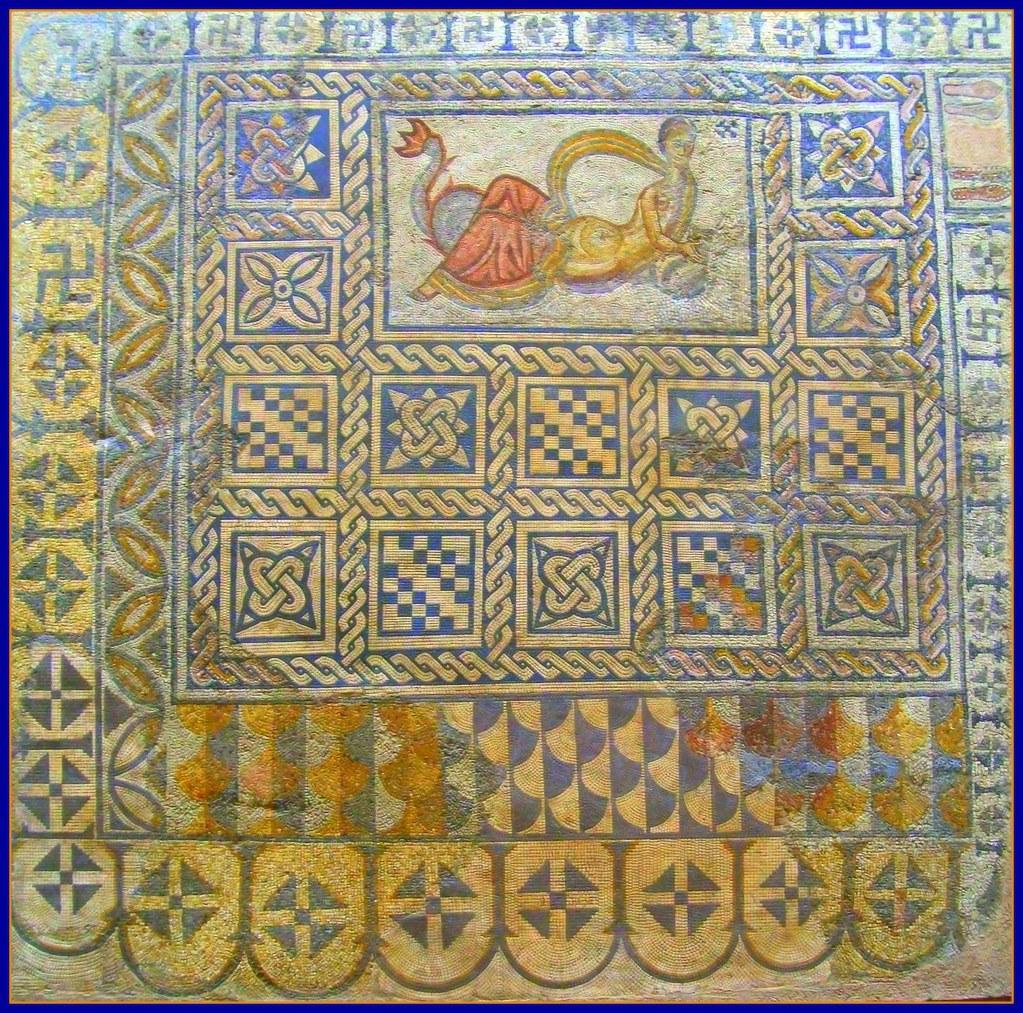 Mosaico romano m rida a photo on flickriver for Mosaico romano
