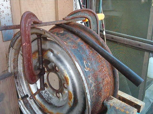 Exhaust Tubing Bender >> Redneck Fork Bender | ajax15 | Flickr