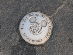 Magic Kingdom Survey Marker