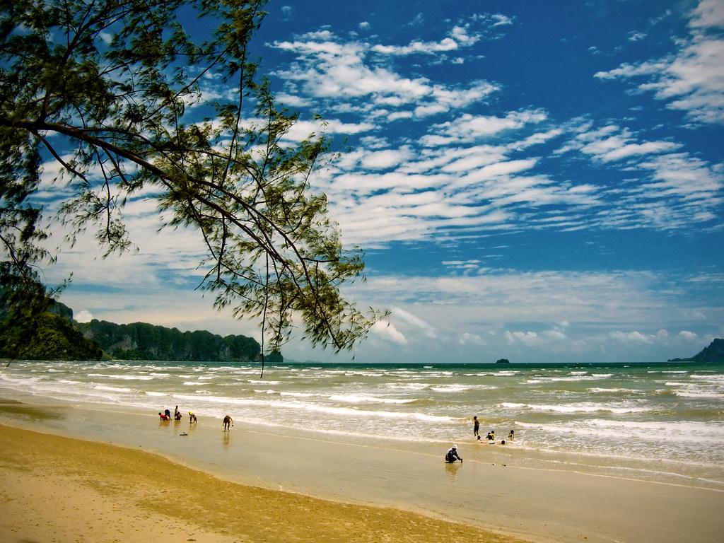 краби пляж