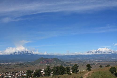 Entre volcanes