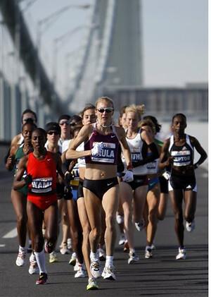 Paula Radcliffe Maraton Nueva York