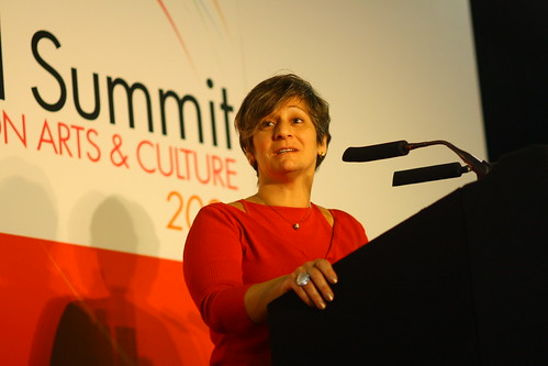 Iman Aoun (Palestine), 4th World Summit on Arts & Culture