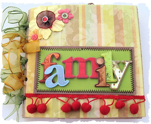 Handmade Scrapbook Cover : Ragsnehali my creative journey in scrapbooking and paper