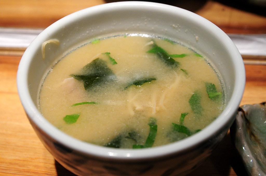 筌壽司-味噌湯