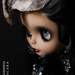 BLACKBIRD GIRL OOAK custom Blythe japan doll by PICARA