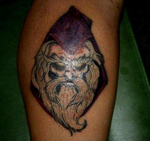 Wizard tattoo flickr photo sharing for Wizard tattoo designs