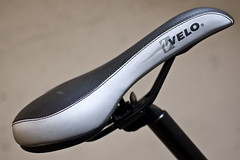 bicycle saddle, bicycle frame, black,