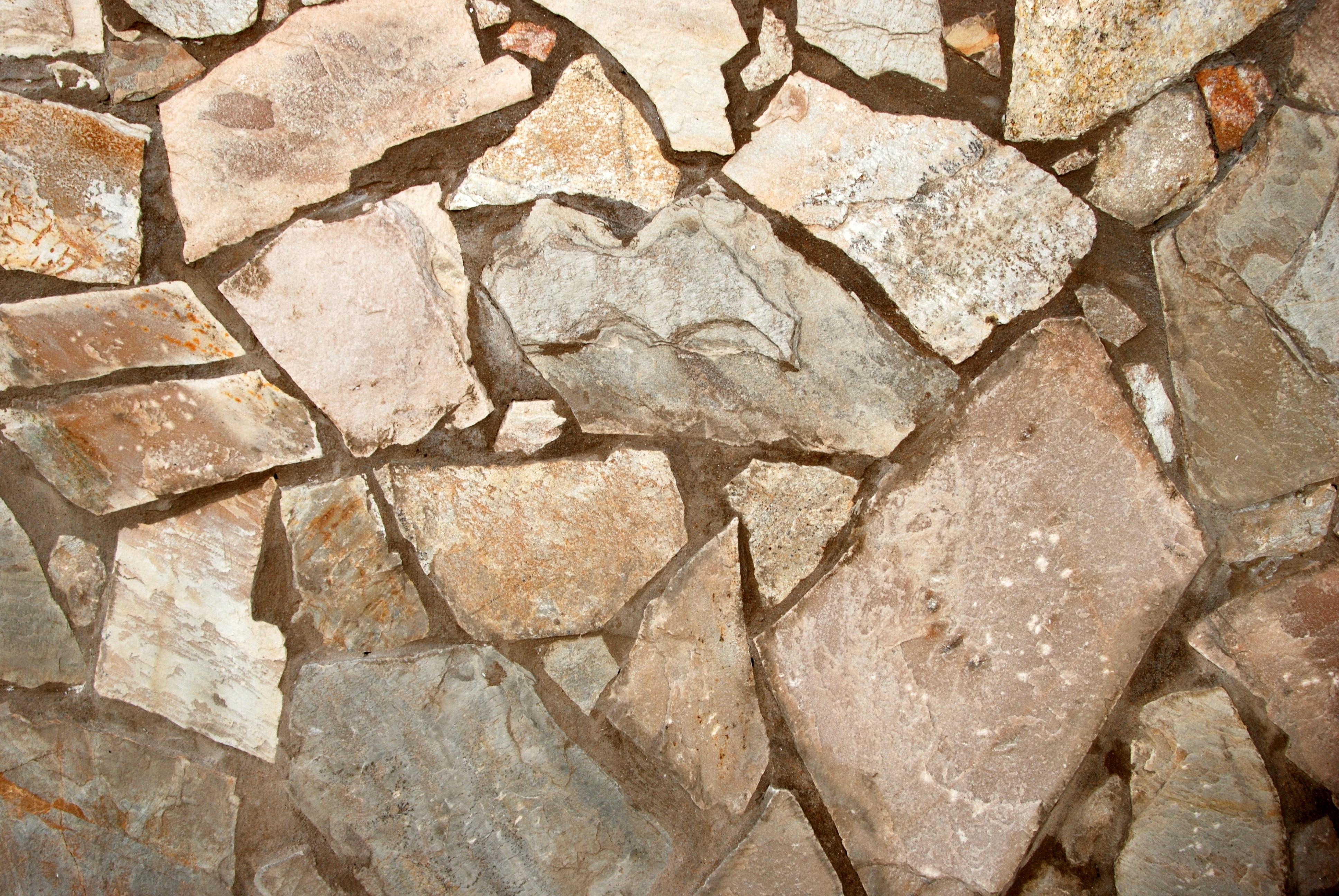 Pared piedras y cemento canarias creativa - Paredes de cemento ...