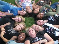 dem girls still in the circle