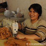 Sewing Stuffed Animals - San Juan de Miraflores, Lima, Peru