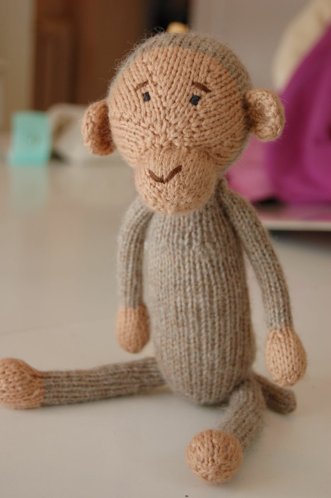 Monkey Moo Doll