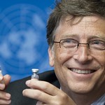 Press Conference - Margaret Chan & Bill Gates