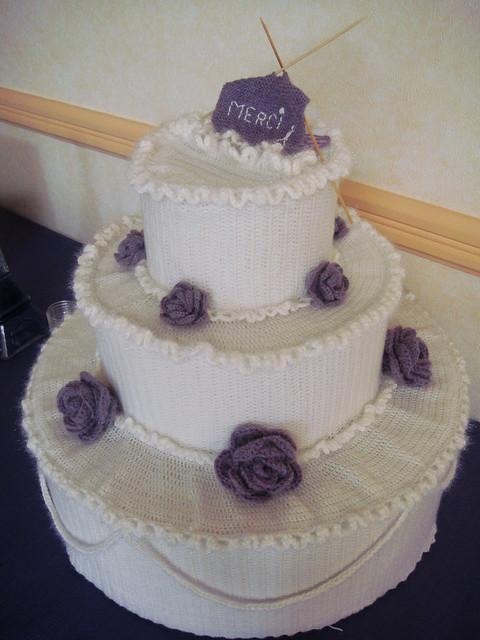 Crochet Wedding Cake