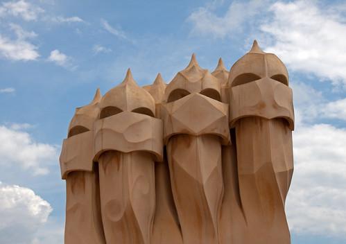 Pedrera Chimneys 1
