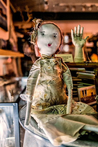 A doll awaiting a home by joeeisner