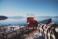 Cheers to blue skies & clean waters