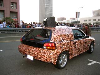 flesh car crash