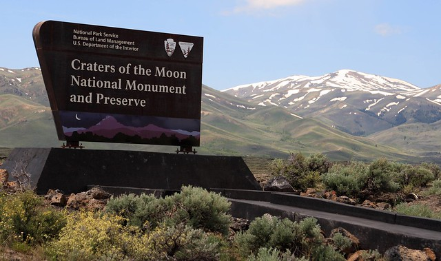 Monument and Preserve Sign