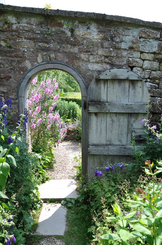 Garden Door, Snowshill Manor