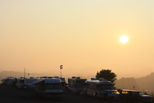 camping sunrise nascar bristolmotorspeedway sharpie500 thundervalley