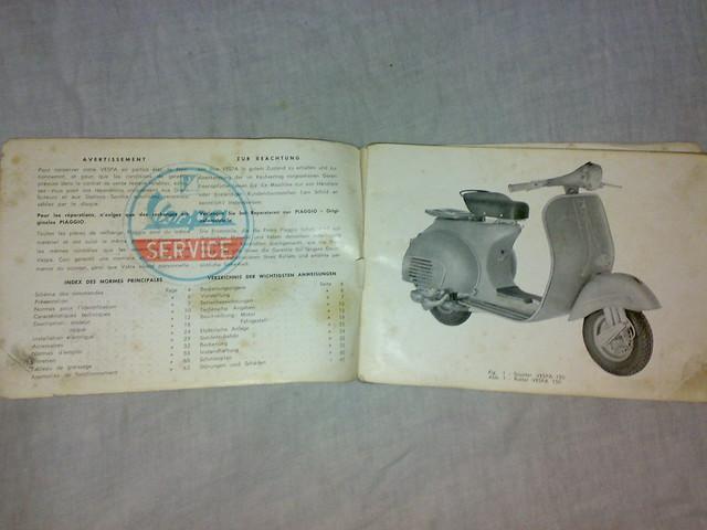 Vespa Scooter Service/Repair Manuals