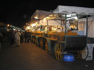 mobile orange juice vendors