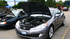 infiniti g(0.0), infiniti(0.0), automobile(1.0), automotive exterior(1.0), hyundai(1.0), wheel(1.0), vehicle(1.0), automotive design(1.0), rim(1.0), mid-size car(1.0), hyundai genesis coupe(1.0), bumper(1.0), sedan(1.0), land vehicle(1.0), luxury vehicle(1.0), coupã©(1.0), supercar(1.0), sports car(1.0),