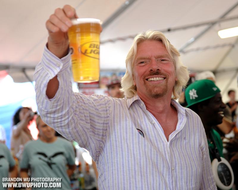 Richard Branson @ Virgin Mobile FreeFest
