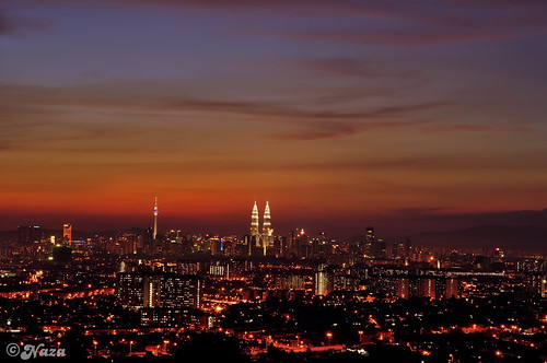 city sunset night asia malaysia kualalumpur southeast gunsnroses ramadhan klcc asean ampang kltower paradisecity worldwidepanorama 1430h 1malaysia