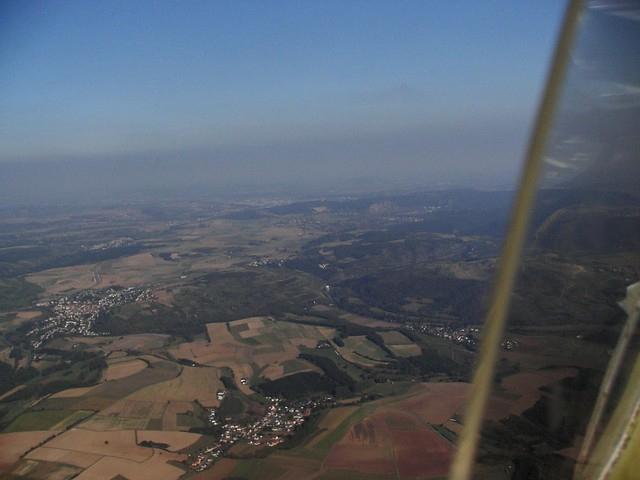 Picture taken at flight over Domberg