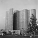 Hall of Science in Queens, New York. Wavy futurama left over from the 1964 Worlds Fair. (by 2000 weren't all buildings supposed to look like this?  Weren't cars supposed to fly by now and use atomic pellets as fuel?) 1967. by wavz13